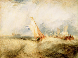 Joseph Mallord William Turner - Van Tromp, Going About to Please His Masters