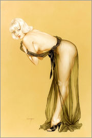 Alberto Vargas - Vargas Girl pin up, September 1962