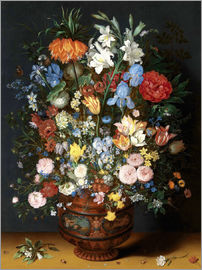 Jan Brueghel d.Ä. - Vase of Flowers