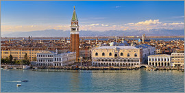 Fine Art Images - Venice view to the Alps