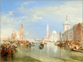 Joseph Mallord William Turner - Venice: The Dogana and San Giorgio Maggiore