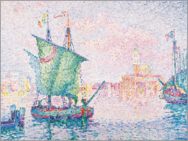 Paul Signac - Venice - the Pink Cloud, 1909