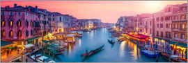 Jan Christopher Becke - Venice panorama at sunset