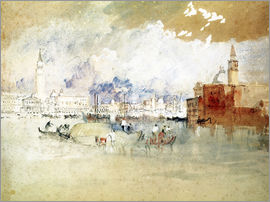 Joseph Mallord William Turner - Venice, seen from the lagoon