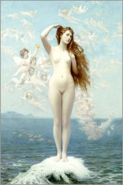 Jean Leon Gerome - Venus Rising (The Star)