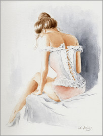 Marita Zacharias - Seductive lingerie - Erotic painting