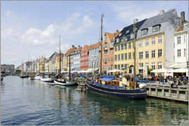 Axel Schmies - Nyhavn entertainment district, Copenhagen