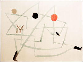 Paul Klee - Bewitched and hurry