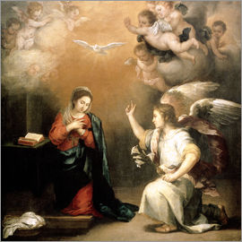 Bartolome Esteban Murillo - Annunciation to the Virgin