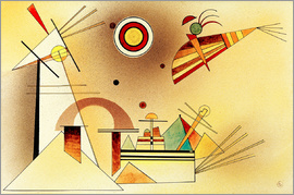 Wassily Kandinsky - Reduced Weight  / Watercolour 1928