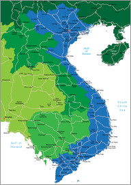 Vietnam - Political Map