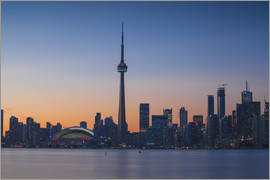 Jane Sweeney - View of CN Tower and city skyline, Toronto, Ontario, Canada, North America