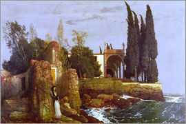 Arnold Böcklin - Villa by the Sea