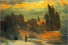 Arnold Böcklin - Villa by the sea III