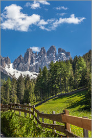 Christian Müringer - Villnoess valley with Dolomites in South Tyrol (Italy)