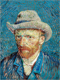 Vincent van Gogh - Vincent van Gogh with Grey Hat