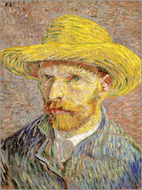 Vincent van Gogh - Vincent van Gogh with straw hat