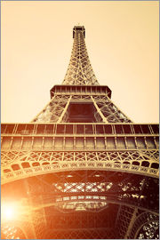 Vintage Eiffel Tower, Paris