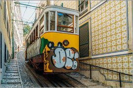 Radu Bercan - Vintage Tram Ride In Lisbon City