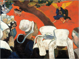 Paul Gauguin - Vision After the Sermon
