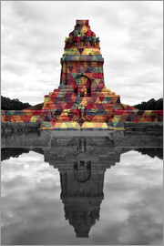 Monument to the battle of the nations Colour Pop