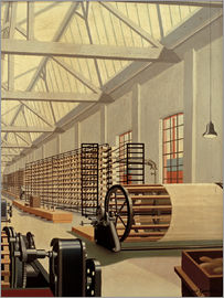 Carl Grossberg - Preparation room (Weaving)