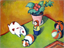August Macke - Walterchens toys