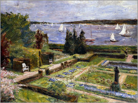 Max Liebermann - The Arnholds' Wannsee garden