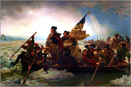 Emanuel Gottlieb Leutze - Washington Crossing the Delaware, 1851