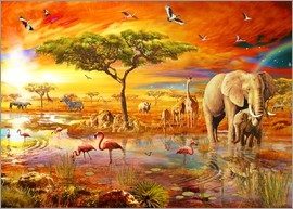 Adrian Chesterman - Savanna Pool