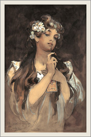 Alfons Mucha - Watercolor, gouache and pencil, 1901