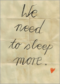 Sabrina Alles Deins - we need to sleep more