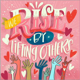 Cynthia Frenette - We Rise By Lifting Others