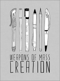 Bianca Green - Weapons Of Mass Creation - Grey