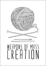 Bianca Green - Weapons Of Mass Creation - Knitting