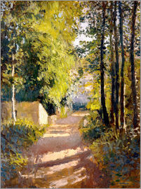 Gustave Caillebotte - Path under trees