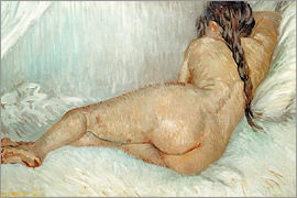 Vincent van Gogh - Reclining Nude, Back View