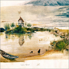 Albrecht Dürer - House at fishpond