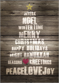 GreenNest - Christmas Typographie