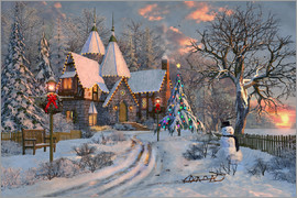 Dominic Davison - Christmas cottage