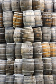 Dennis Flaherty - Wine barrels