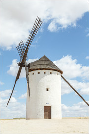 Matteo Colombo - White windmill, Consuegra, Spain