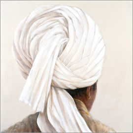 Lincoln Seligman - White Turban, 2014