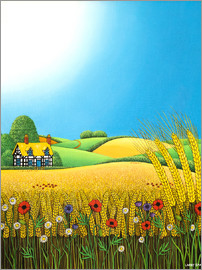 Larry Smart - Sussex Wheatfields