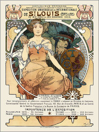 Alfons Mucha - St. Louis World's Fair 1904