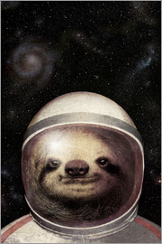 Eric Fan - Space Sloth Poster Lounge