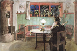 Carl Larsson - When the Children have Gone to Bed