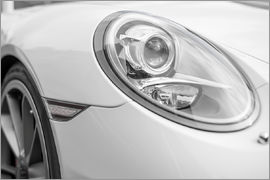 White Sportscar - Detail