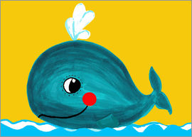 Little Miss Arty - Willy, the friendly whale