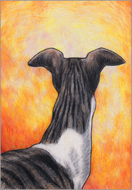 Jim Griffiths - Greyhound drawing
